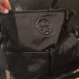 Tory Burch Black Diaper Bag (no changing pad)